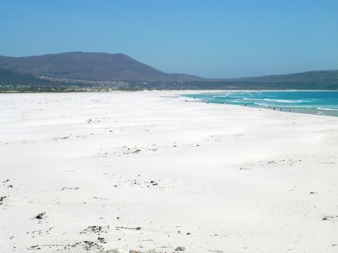 spiaggia enorme! mai vista una così grande...