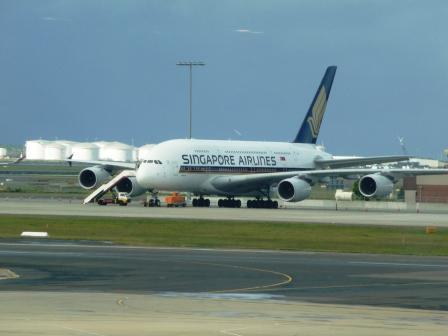 A380 Singapore to Sydney