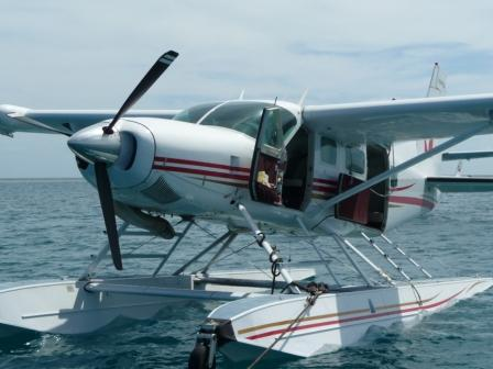 landing for snorkeling