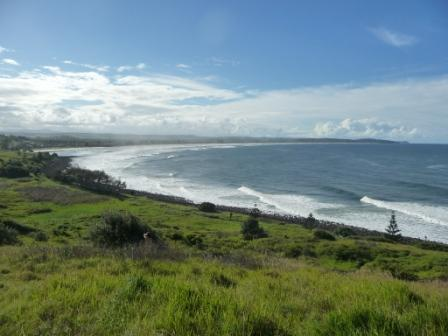 Lennox bay (close to Byron Bay)