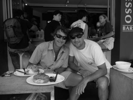 Roby e Ricky a Bondi Beach