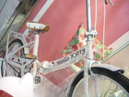 luxury bicycle