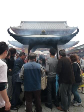 Incense ritual