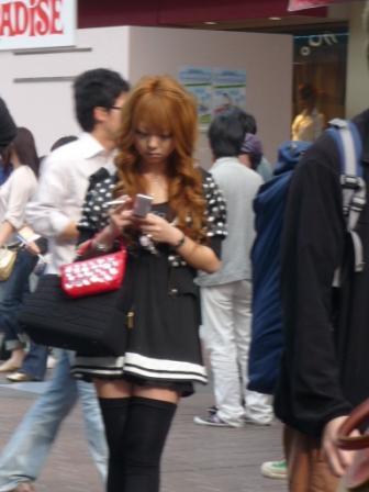 Japanise girl love accessories