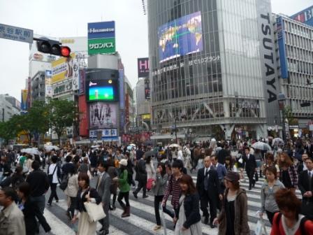 Shibuya, the best crossing