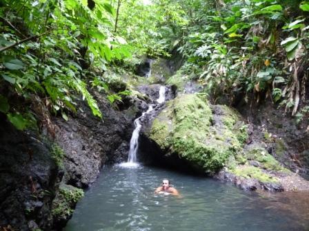 Rio Claro second lagoon