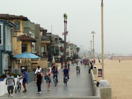L.A. beach walk