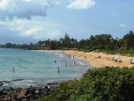Maui, Kihei beach