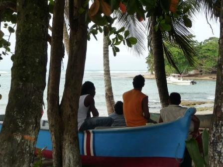Quiet life in Puerto Viejo