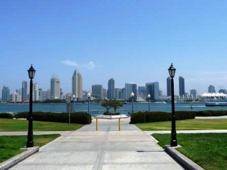 San Diego view