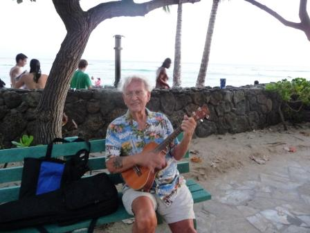 Ukulele, tipical hawaian guitar
