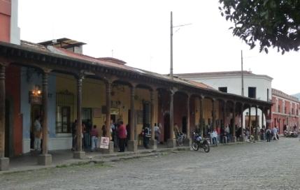 Antigua portici